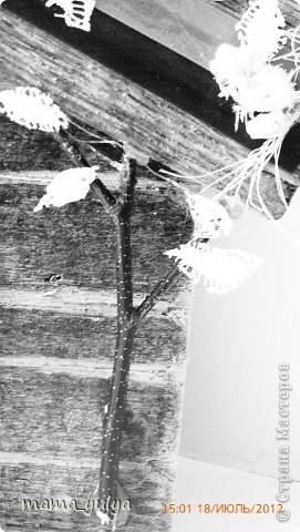 """приехала """"на деревню к дедушке""""смотрю -  забор старый снесли, распилили на дрова, в кучу сложили, сжечь хотят - ужас!!! а досочки такие красивые))) загляденье)))  захотелось что-то из них смастерить...слепила из того, что было под руками... фото 6"""