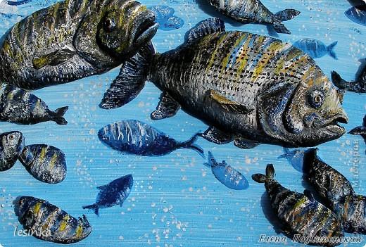 Рыбка хвостиком виляет, Грациозно проплывает, По течению реки, Не страшны ей рыбаки! Корм не требует она, Чудо, как она умна. Марк Львовский  Продолжение 3-D  ))) На этот раз рыбки для любителя рыбалки. В общем, продолжаю эксперементировать :) фото 2