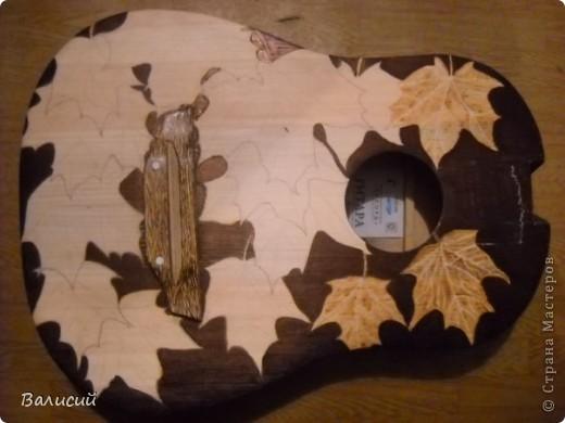 Пирография на гитаре. Та самая, что и на Аве. фото 2