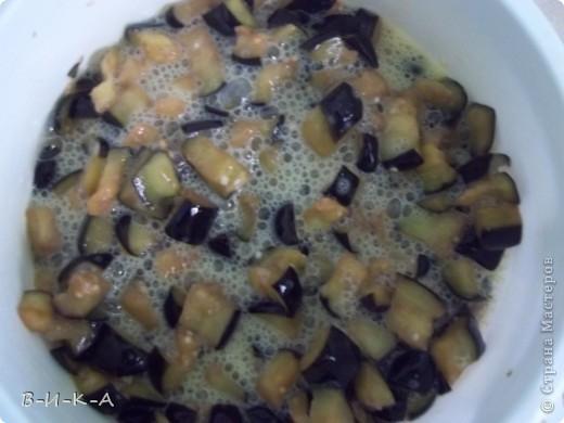 Всем привет!!! Очень,очень люблю баклажаны. Это уже второй раз за сегодня готовлю, решила и с Вами поделиться этим рецептом. Вкус действительно почти на 100% похож на грибы!!!  фото 6
