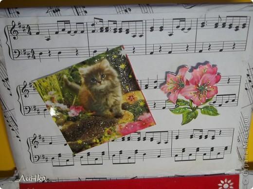 Здравствуйте!!! Вот моя первая подарочная каробочка)))) надеюсь, Вам понравится))) фото 5