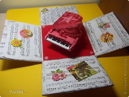 Здравствуйте!!! Вот моя первая подарочная каробочка)))) надеюсь, Вам понравится))) фото 4