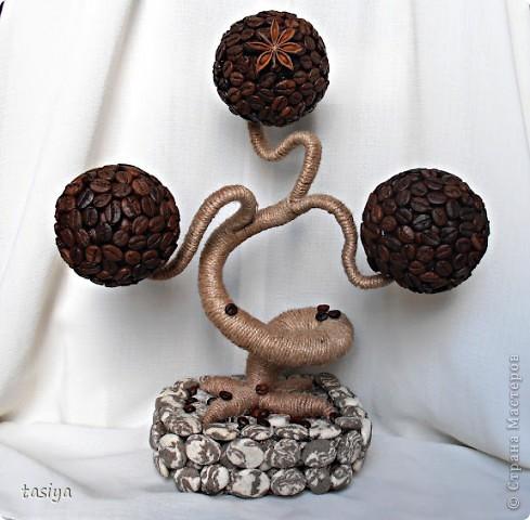 Приветик девуленьки. Вот такой мини баобабчик сварганила)))) За камешки спасибо Леночке ещё раз, ещё раз, ещё много-много раз)))) фото 1