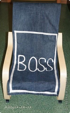 Хочу поделиться с идеей, как использовать старые джинсы! Сшила себе фартук, фасон придумала сама,теперь одеваю с удовольствием! фото 7