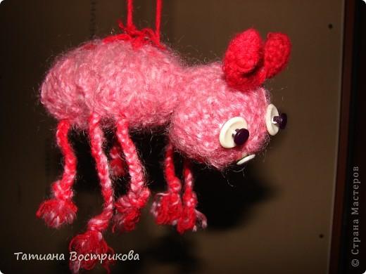 """Игрушки сделаны для дочки давно, вот решила выставить))) Паучишка """"Леночка""""стесняшка фото 2"""