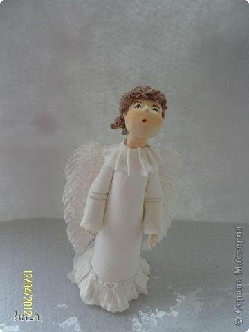Вот такой у меня получился Ангел!