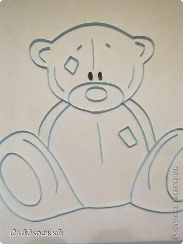 Вот такие мишки Тедди у меня получились :) Очень понравилось их делать. Честно говоря я думала будет сложней ;) Это у меня первый.  фото 2