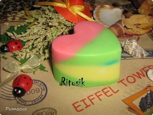Мыло ароматное со вкусом арбузика. фото 11