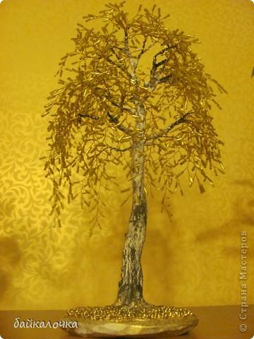 Бисерные деревья фото 3