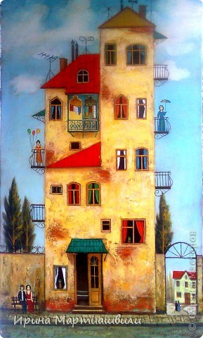 Картины художника Давида Мартиашвили фото 5