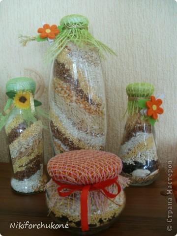 Такие бутылочки получились) фото 1