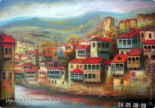 Картины художника Давида Мартиашвили фото 19