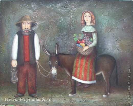 Картины художника Давида Мартиашвили фото 3