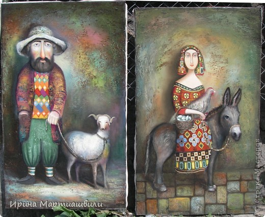Картины художника Давида Мартиашвили фото 10