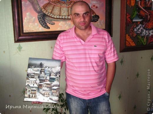 Картины художника Давида Мартиашвили фото 20