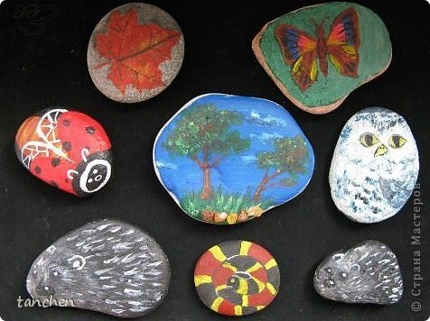 разукрашиваем камни фото 4