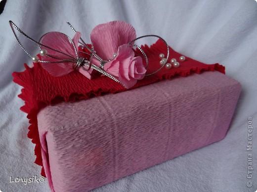 Подарок на свадьбу куплен, в обычной коробочке. а так хочется чтобы глядя на него глаза загорелись у молодоженов с интересом- а что же там внутри? налюбовавшись на работы в стиле свит-дизайн, решила оформить упаковочку именно так. фото 8