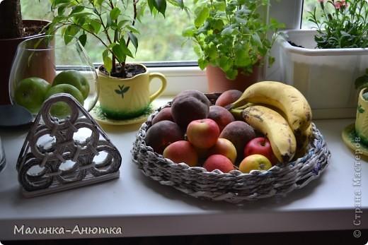 Салфетница и корзинка под фрукты фото 1