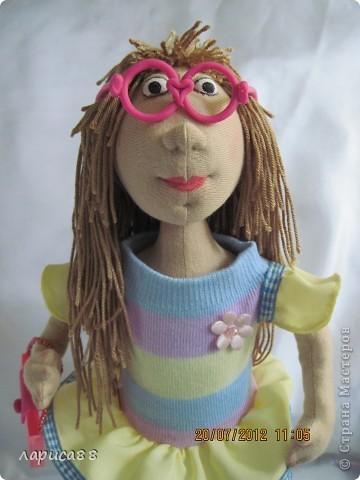 Моя первая куколка из трикотажа. Юля - выбражуля. фото 1