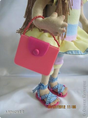 Моя первая куколка из трикотажа. Юля - выбражуля. фото 6