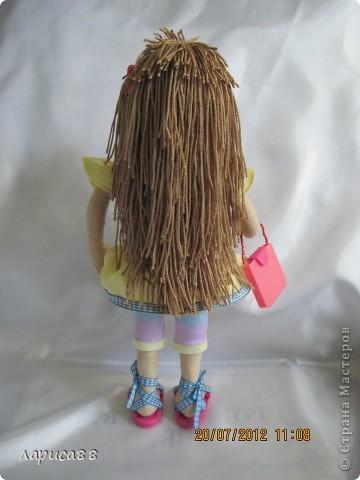 Моя первая куколка из трикотажа. Юля - выбражуля. фото 4