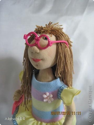 Моя первая куколка из трикотажа. Юля - выбражуля. фото 7