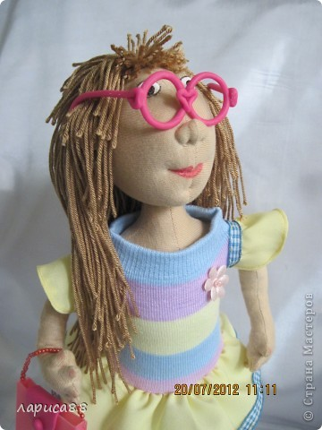 Моя первая куколка из трикотажа. Юля - выбражуля. фото 5