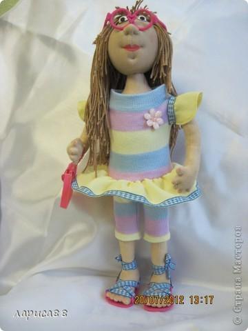 Моя первая куколка из трикотажа. Юля - выбражуля. фото 2