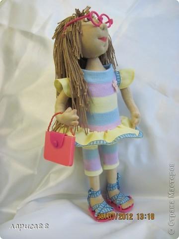 Моя первая куколка из трикотажа. Юля - выбражуля. фото 3