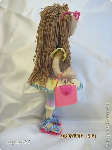 Моя первая куколка из трикотажа. Юля - выбражуля. фото 8