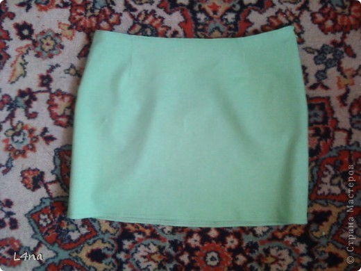 Летний комплект, блузка с юбкой... часть 1. юбка фото 1