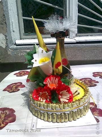Мой первый тортик ко Дню рождения сестре фото 10