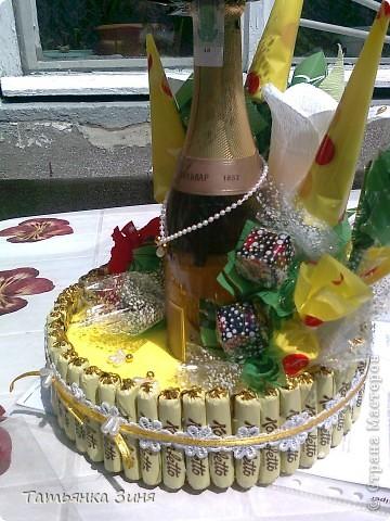 Мой первый тортик ко Дню рождения сестре фото 11