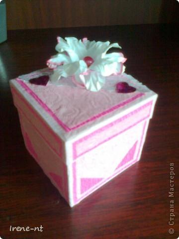 Еще одна коробочка-сюрприз фото 1
