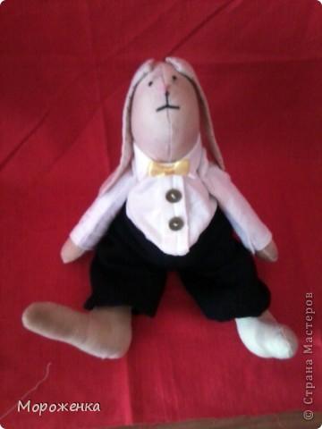 Новая моя игрушечка.Подарок любимой сестре.Имя Семен Иваныч. Рост 26 см. фото 6