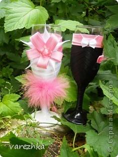 Бокальчики и повторюшка туфельки с конфетками фото 1