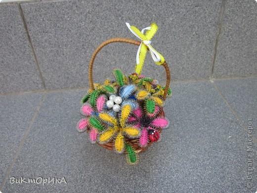 """Корзинка с цветами"" фото 1"