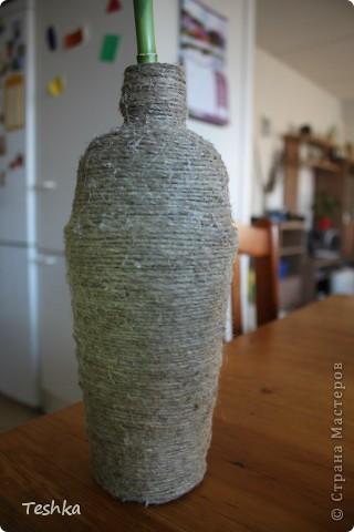 Новая жизнь бутылки ))
