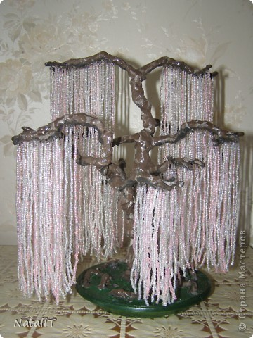 Бисероплетение - Дерево души Эйва из Аватара из бисера.