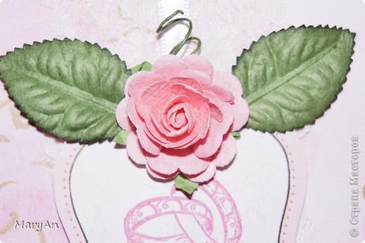 Сезон свадеб объявлен открытым! Подготовка  к свадьбам идет полным ходом. Сегодня я с нежно-розовым набором, в котором 2 открытки и конвертик. фото 9