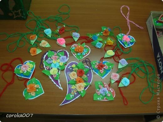Сердечные сувенирные открыточки. фото 1