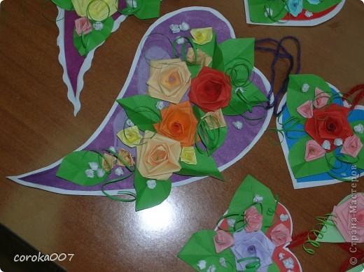 Сердечные сувенирные открыточки. фото 2