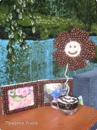 Кофейный топиарчик и рамочка  фото 1
