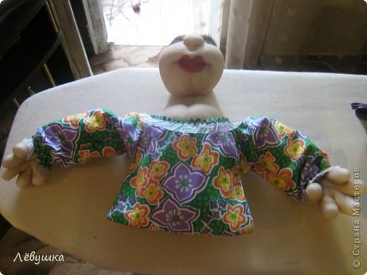 Вот такая кукла - сухарница теперь будет жить на кухне у моей подруги фото 4