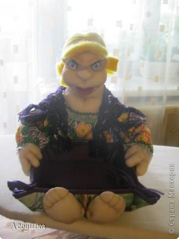 Вот такая кукла - сухарница теперь будет жить на кухне у моей подруги фото 11