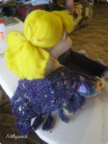 Вот такая кукла - сухарница теперь будет жить на кухне у моей подруги фото 9