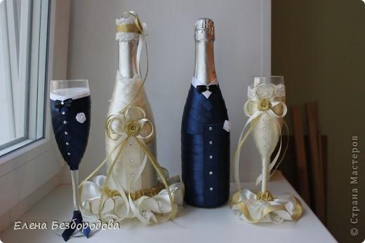 Свадебные бутылки для коллеги фото 1