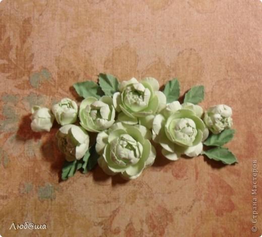 Хочу показать вам как в своей открытке делала пионы: http://stranamasterov.ru/node/389032 . Розы делала по такой же методике. Похоже получилось или нет - судить вам. фото 24