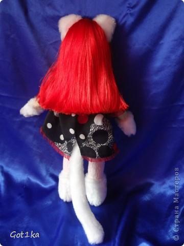 Текстильная, интерьерная кукла Эмма, изготовлена в 2012 году.Рост 50 см. Мателиалы: ткань лен, искусственный мех, волосы атласные, синтепон, ароматизатор корица, краски по ткани, флис для декора. фото 3