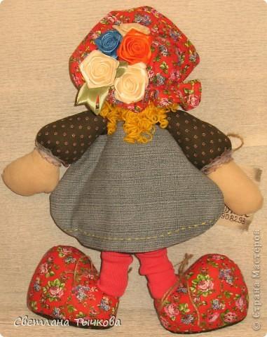 """Новая куклёшка Настенька,созданная по мастер-классу журнала""""""""Лена"""""""". фото 3"""